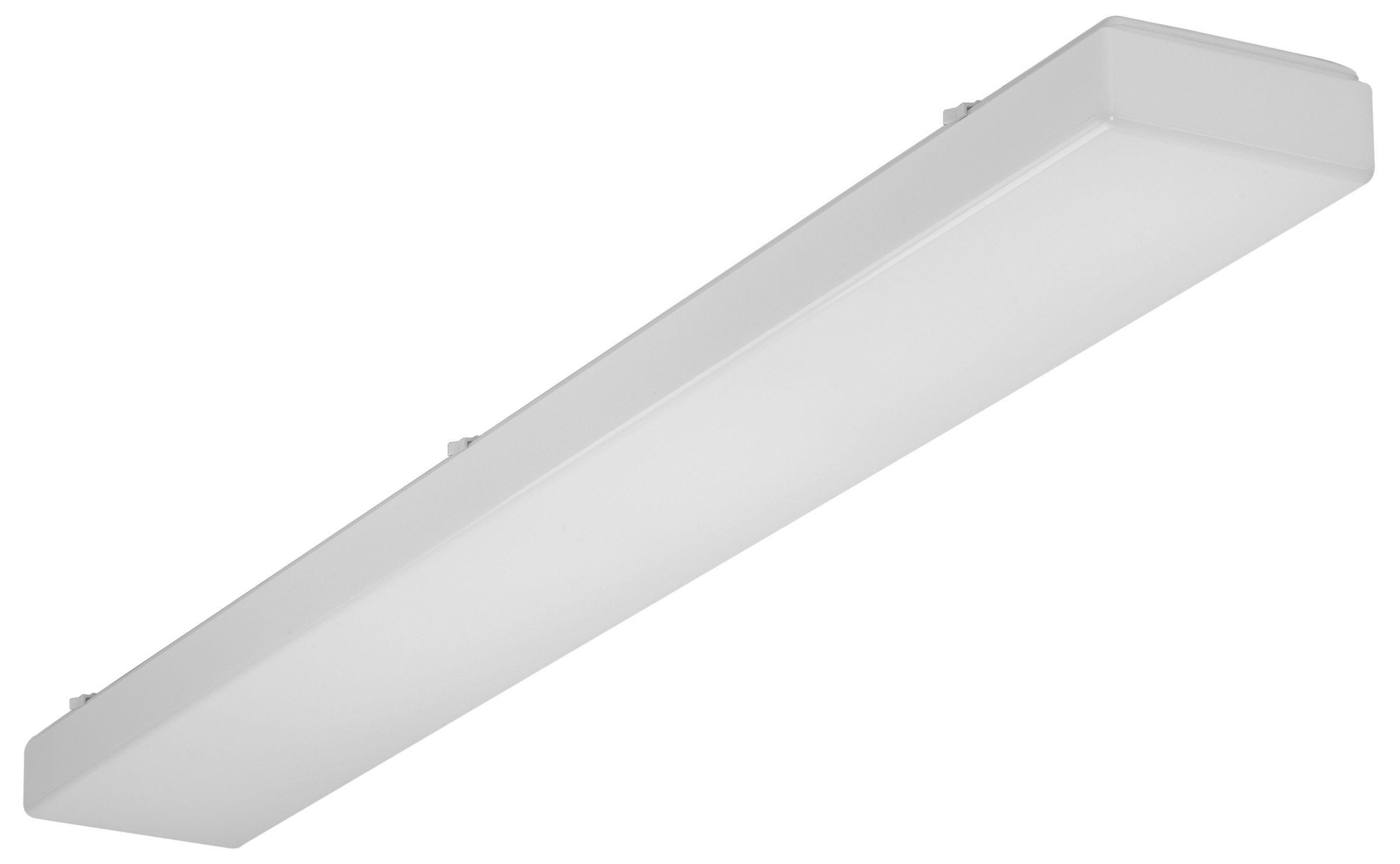 1 Stk AOTF-O T8 Wannenleuchte, 2x36W, EVG, IP50, acryl, opal, Weiß LI71261562
