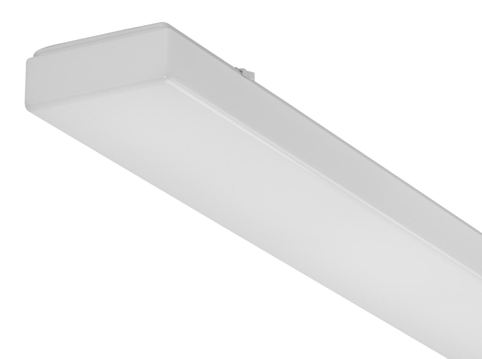 1 Stk AOTF-O T8 Wannenleuchte, 2x58W, EVG, IP50, acryl, opal, Weiß LI71291562