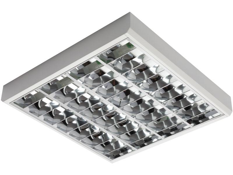 1 Stk Salena SARH 2 T8 ECO, 4x18W, EVG, IP20, Weiß LI90000010