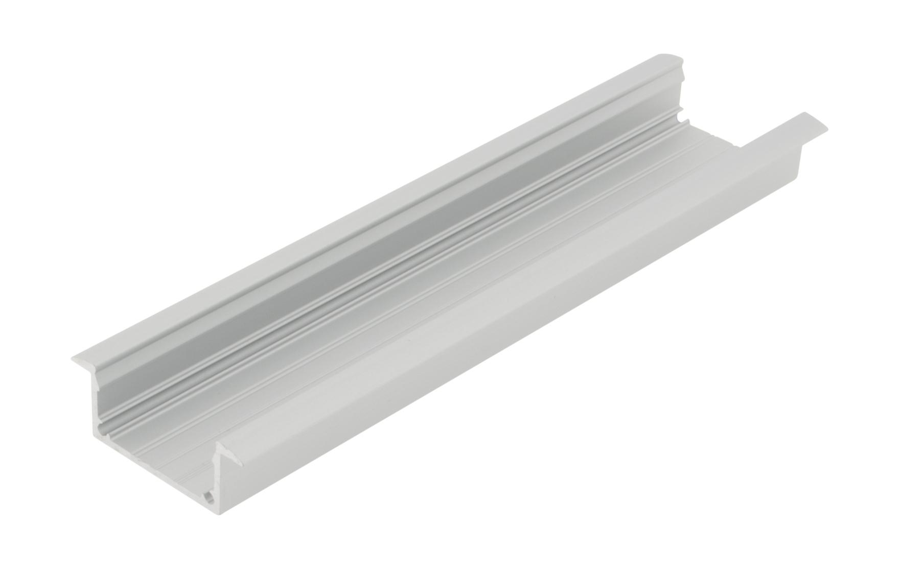 1 m Aluminium Profil LBKI (Klipsprofil Einbau) LIAP001206