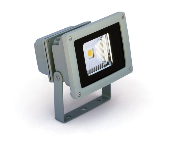 1 Stk Sigma Simple LED Fluter, 10W, 6000K, 550lm, IP65, grau LID12032--