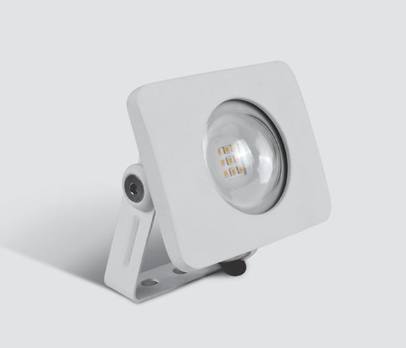 1 Stk Senga LED 10W 860lm, 3000K, 230V, IP65, weiß LID14076--