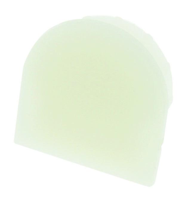 1 Stk Profil Endkappe LBF Rund geschlossen LIEK001110