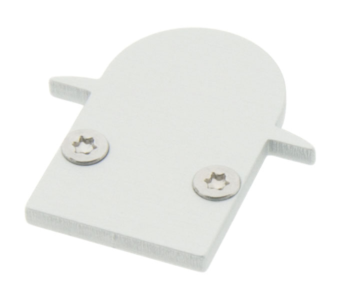 1 Stk Profil Endkappe LBI Rund geschlossen LIEK001510