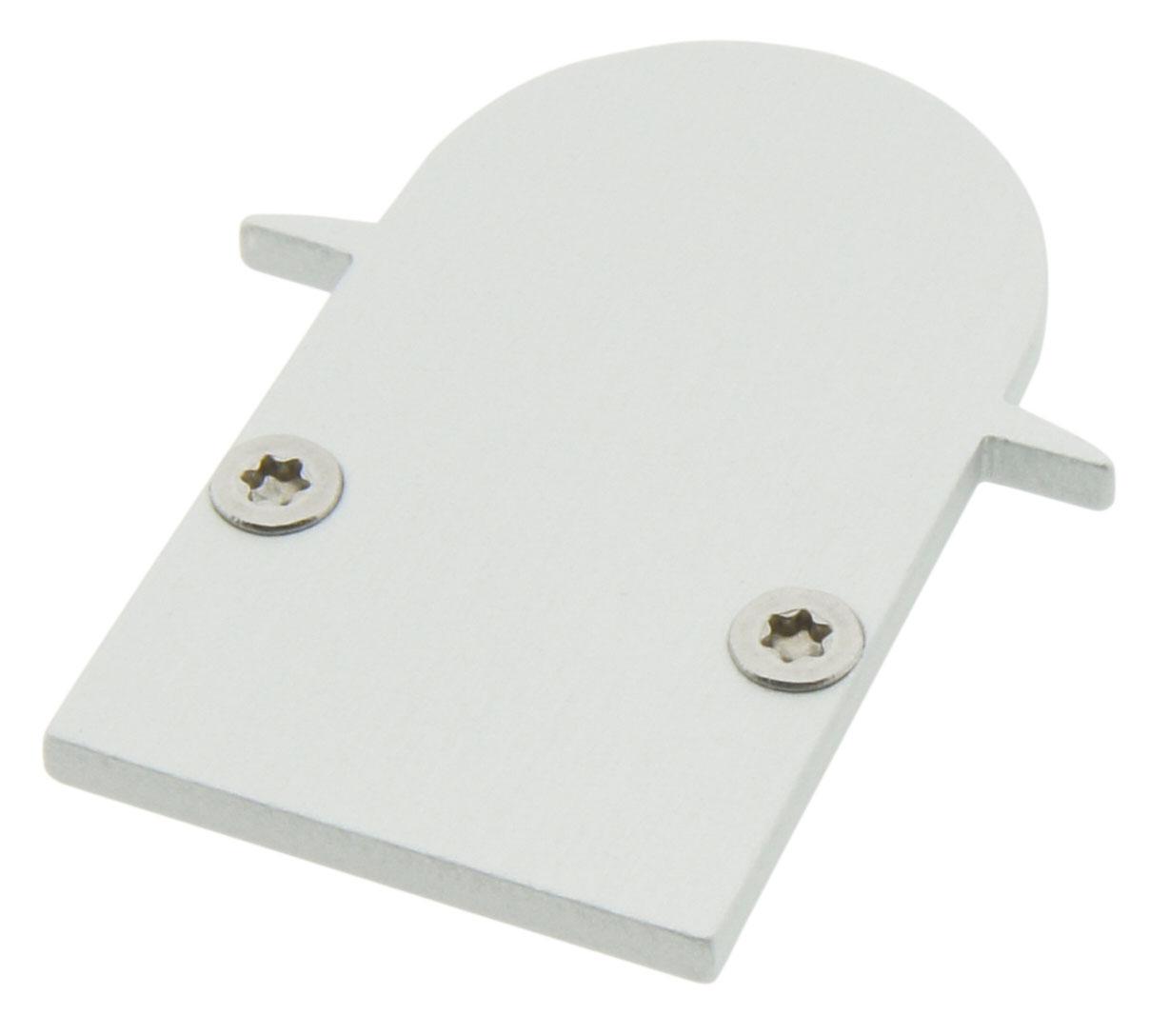 1 Stk Profil Endkappe TBI Rund geschlossen LIEK002310