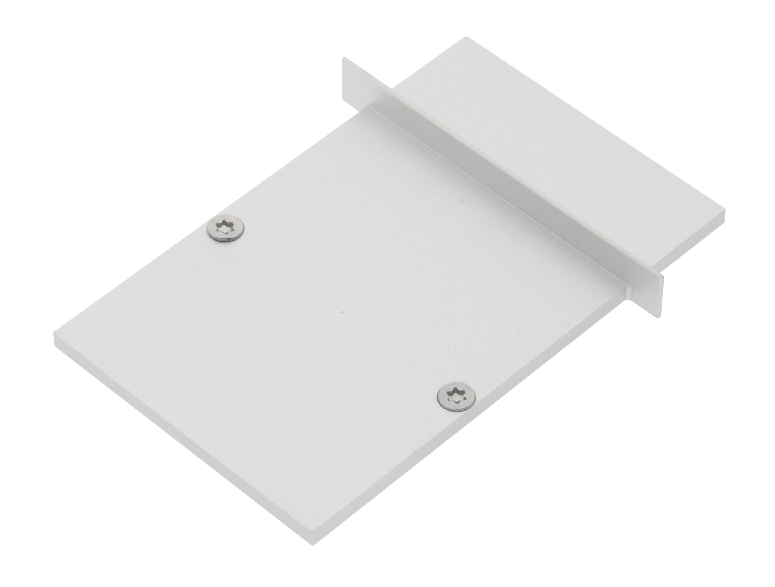 1 Stk Profil Endkappe MFI Eckig geschlossen inkl. Schrauben LIEK005320