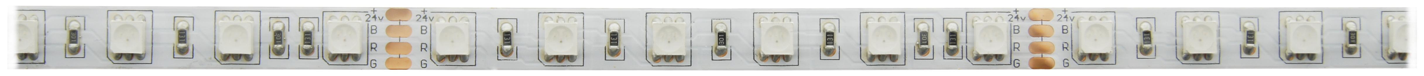 1 Stk Flexstrip 72 RGB 100% Mix, 15,1W/m, 447lm/m 24VDC, IP44 l=5m LIFS008005