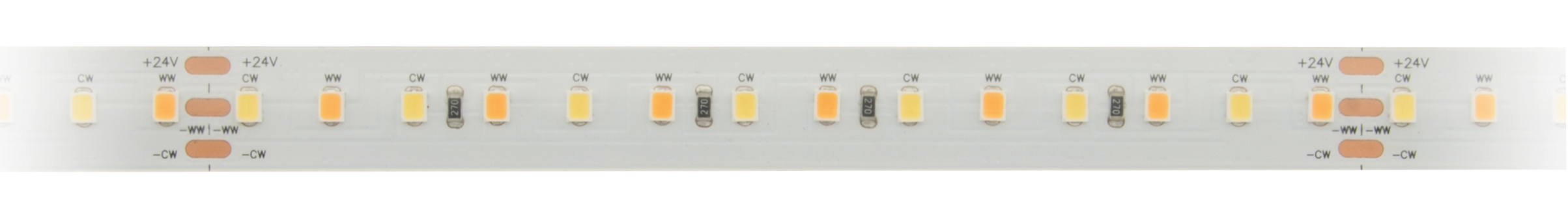 1 Stk Flexstrip 115 DW  100% Mix 26,3 W/m 2108lm/m 24VDC IP44 l=5m LIFS009104