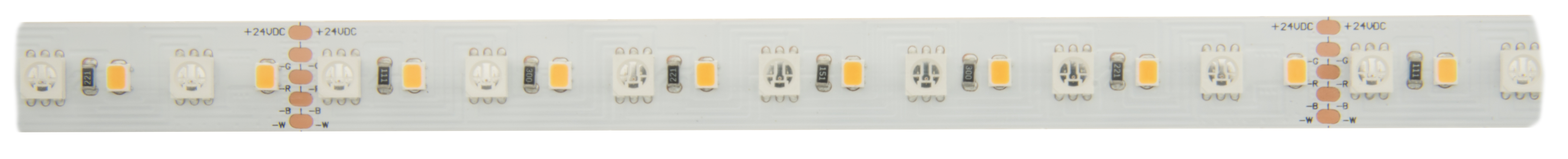 1 Stk Flexstrip 115 RGB-WW Ra=90+ 15W/m 1187lm/m, 24VDC IP44, l=5m LIFS009205