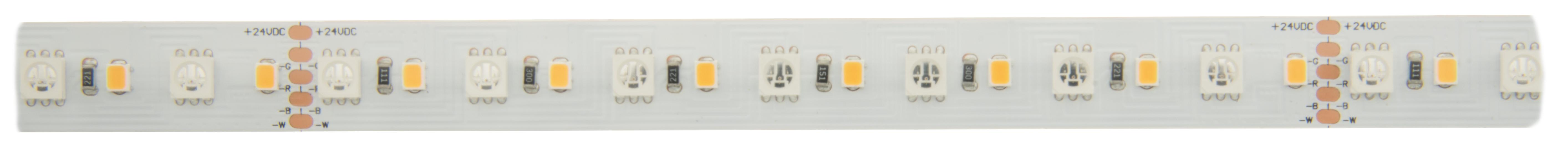 1 Stk Flexstrip 115 RGB HW 90+ 14,5W/m 1243lm/m, 24VDC IP44, l=5m LIFS009510