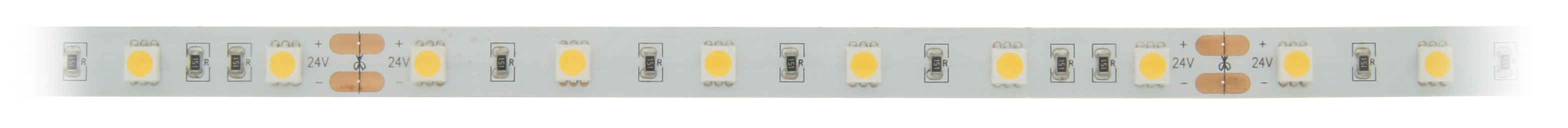 1 Stk Flexstrip 60 WW, Ra=90+, 13W/m, 1069lm/m, 24VDC,IP44, l=5m LIFS012002