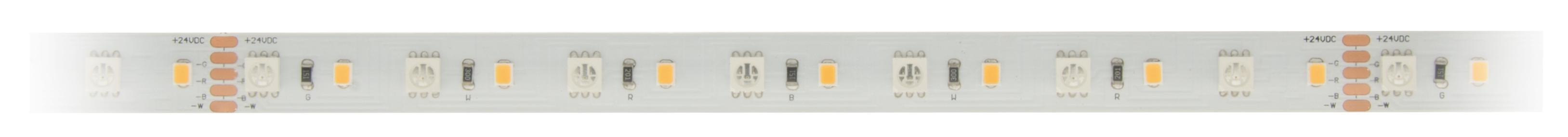 1 Stk Flexstrip 86 RGB NW Ra=90+, 11W/m 938lm/m, 24VDC,IP44, l=5m LIFS014003