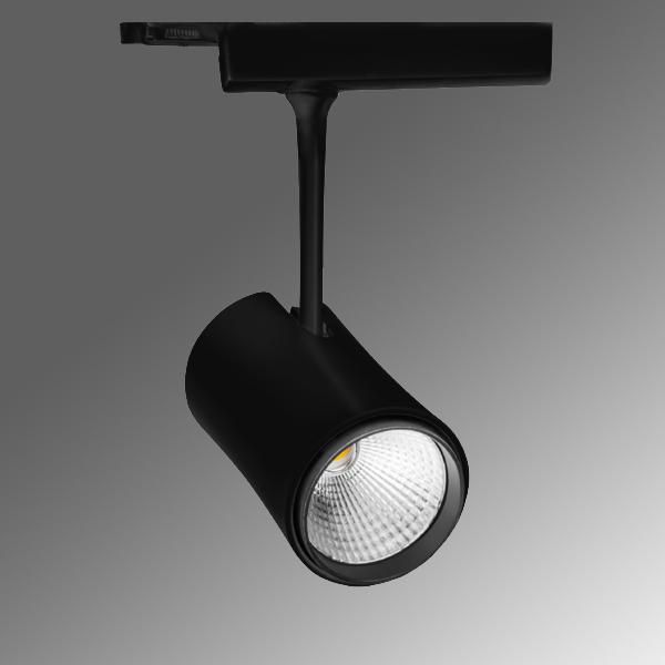 1 Stk VITO DC LED 38W 3200lm/830 ECG 20° schwarz LIG35L0301