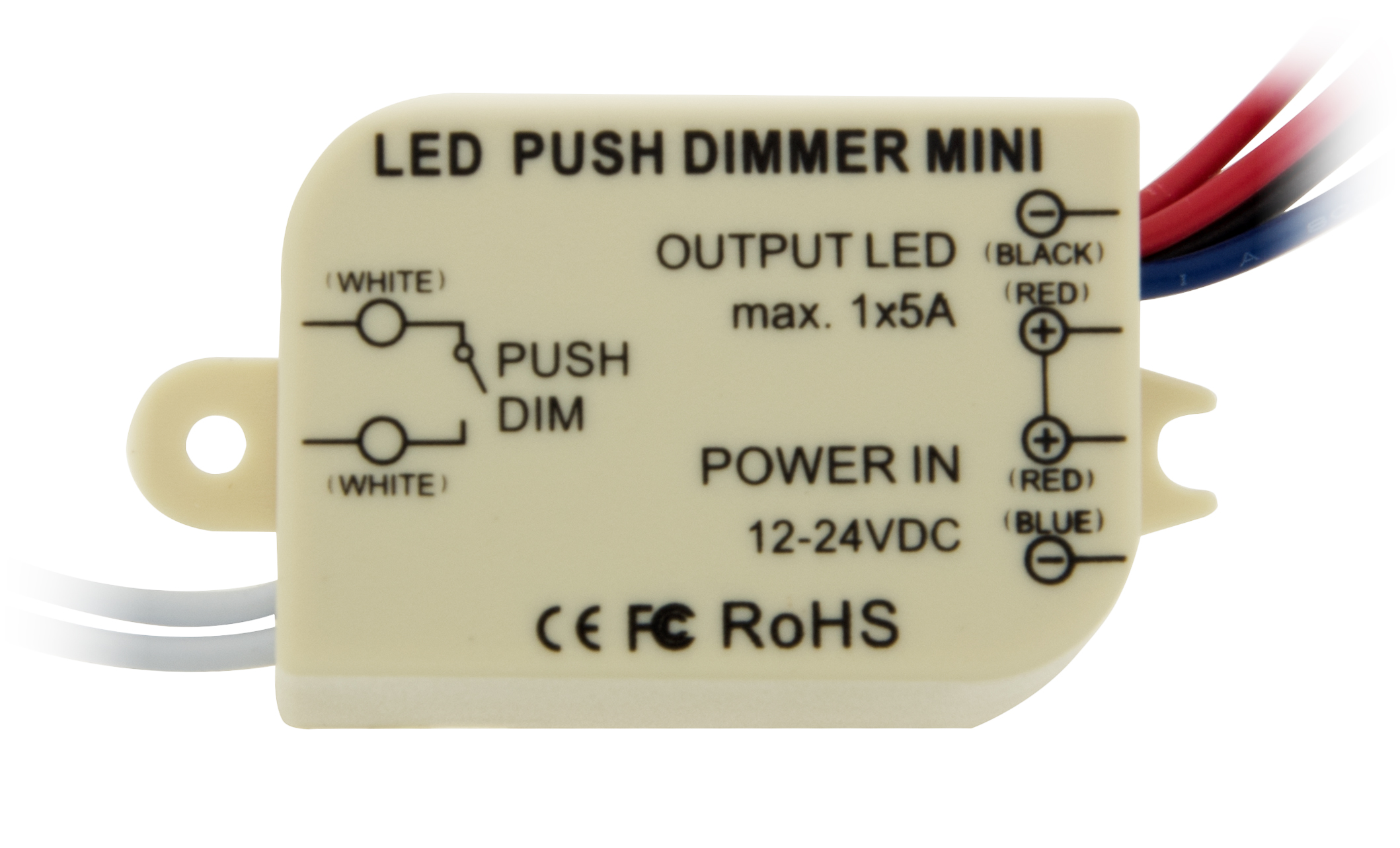 1 Stk LED Push Dimmer Mini Mono LILC011011