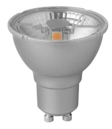 1 Stk LED MEGAMAN GU10 PAR16 4,5W, 2800K, 600cd, 230V, 35° LIMM26372-