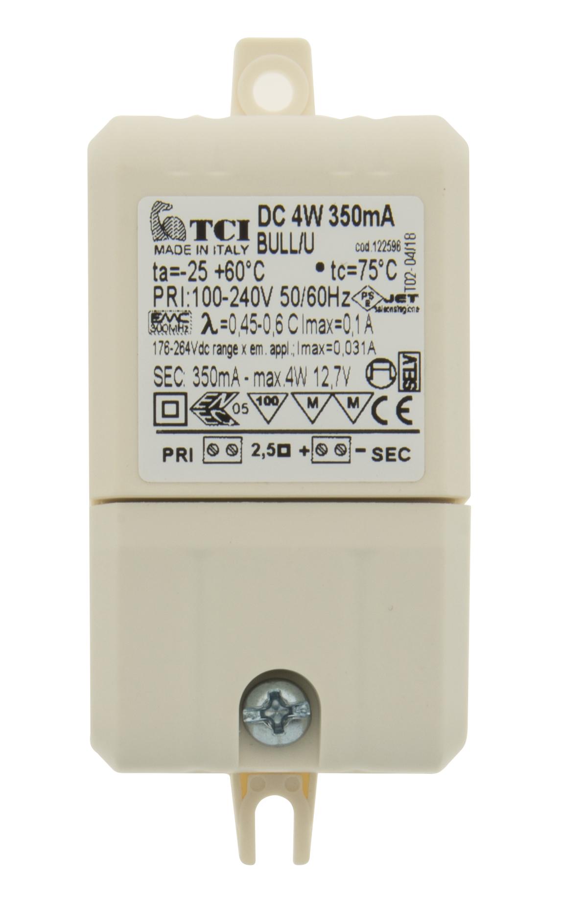 1 Stk LED Netzteil TC 4W/350mA, IP20 LINT704000