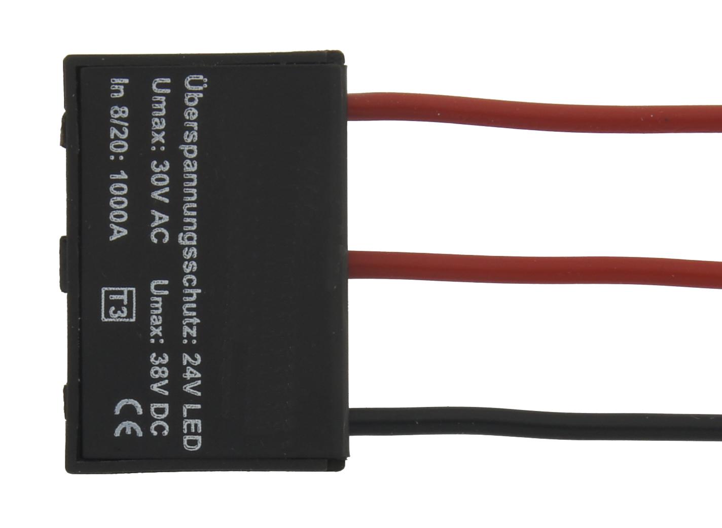 1 Stk Überspannungsschutz 24V für Mono Strips LINZ024001