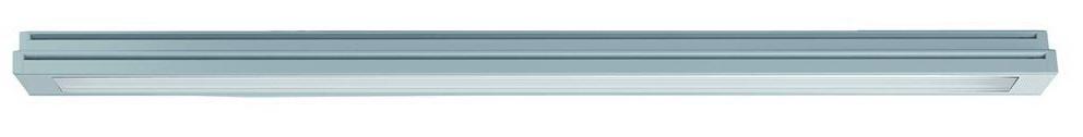 1 Stk TRAIL Ground LED 650mm 9W,900lm Asym. 3000K,Klar, Alu-farbe LIR2D6397J