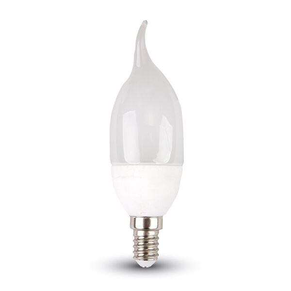 1 Stk LED Kerze 4W E14 Flamme 2700K, 320lm, 200° LIVT4164--
