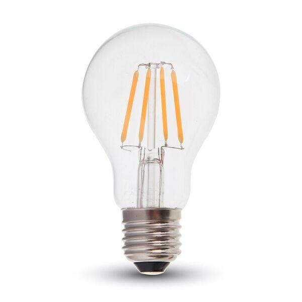 1 Stk LED Classic 6W Filament Flamme E27 A60 2700K, 550lm, 300° LIVT4272--