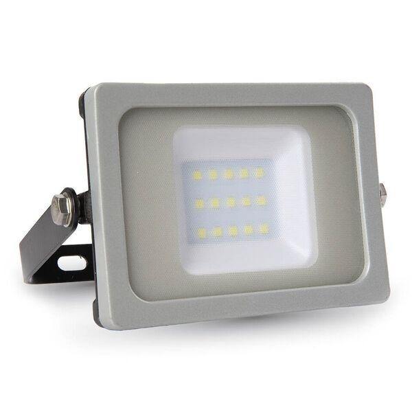 1 Stk LED Floodlight 10W schwarz/grau SMD 6400K, 800lm, IP65 LIVT5776--