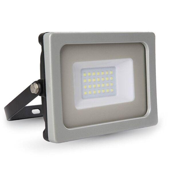 1 Stk LED Floodlight 20W schwarz/grau SMD 3000K, 1600lm, IP65 LIVT5792--