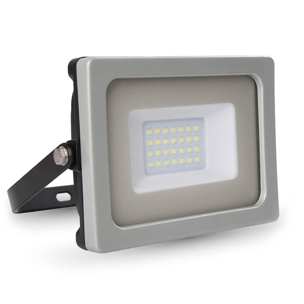 1 Stk LED Floodlight 20W schwarz/grau SMD 6400K, 1600lm, IP65 LIVT5794--