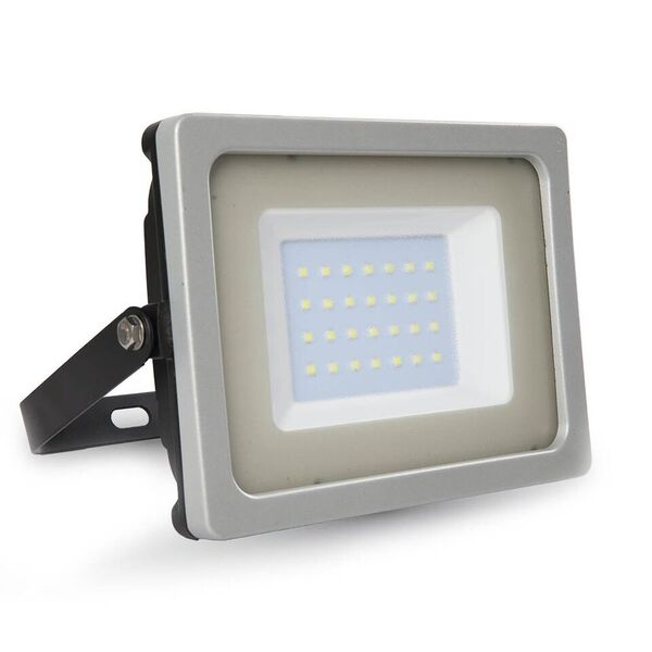 1 Stk LED Floodlight 30W schwarz/grau SMD 3000K, 2550lm, IP65 LIVT5810--