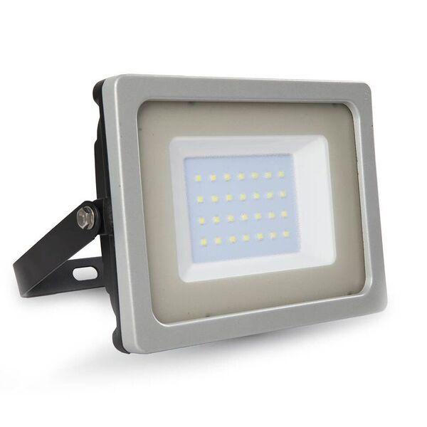 1 Stk LED Floodlight 30W schwarz/grau SMD 4000K, 2550lm, IP65 LIVT5811--