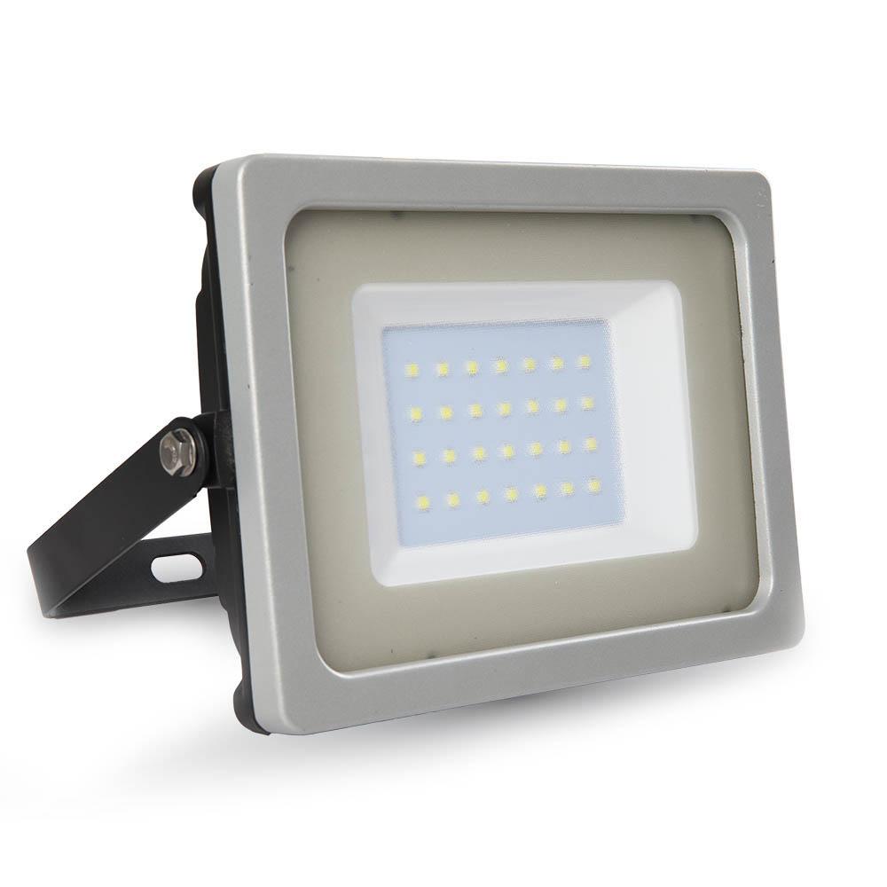 1 Stk LED Floodlight 30W schwarz/grau SMD 6000K, 2550lm, IP65 LIVT5812--