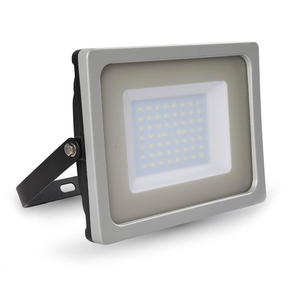 1 Stk LED Floodlight 50W schwarz/grau SMD 6400K, 4250lm, IP65 LIVT5830--