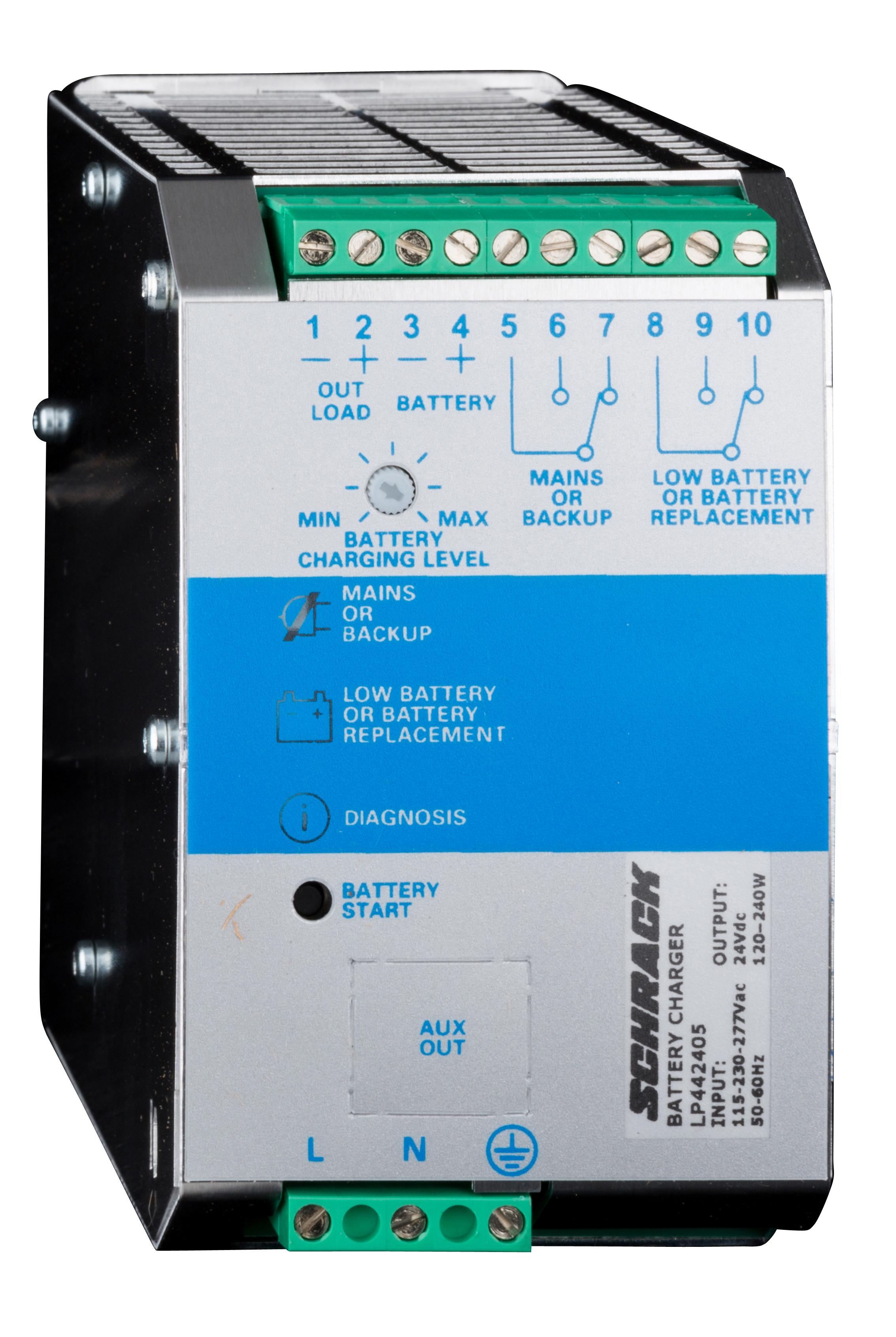 1 Stk Einphasiges Netzgerät getaktet mit USV, 230VAC/24VDC, 5A LP442405--