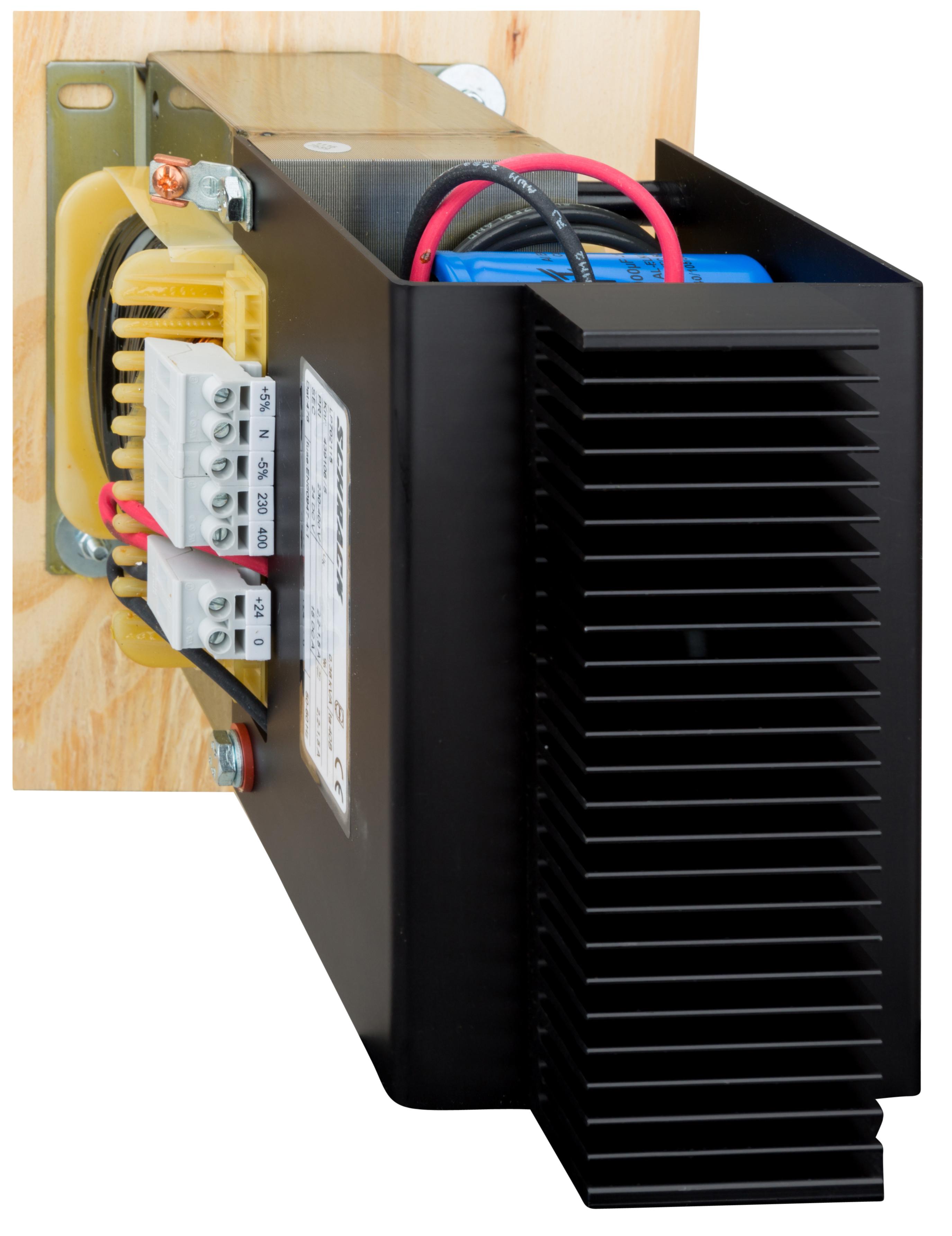 1 Stk Einpoliges Netzgerät, ungeregelt, 230-400/24VDC, 15A LP702115T-