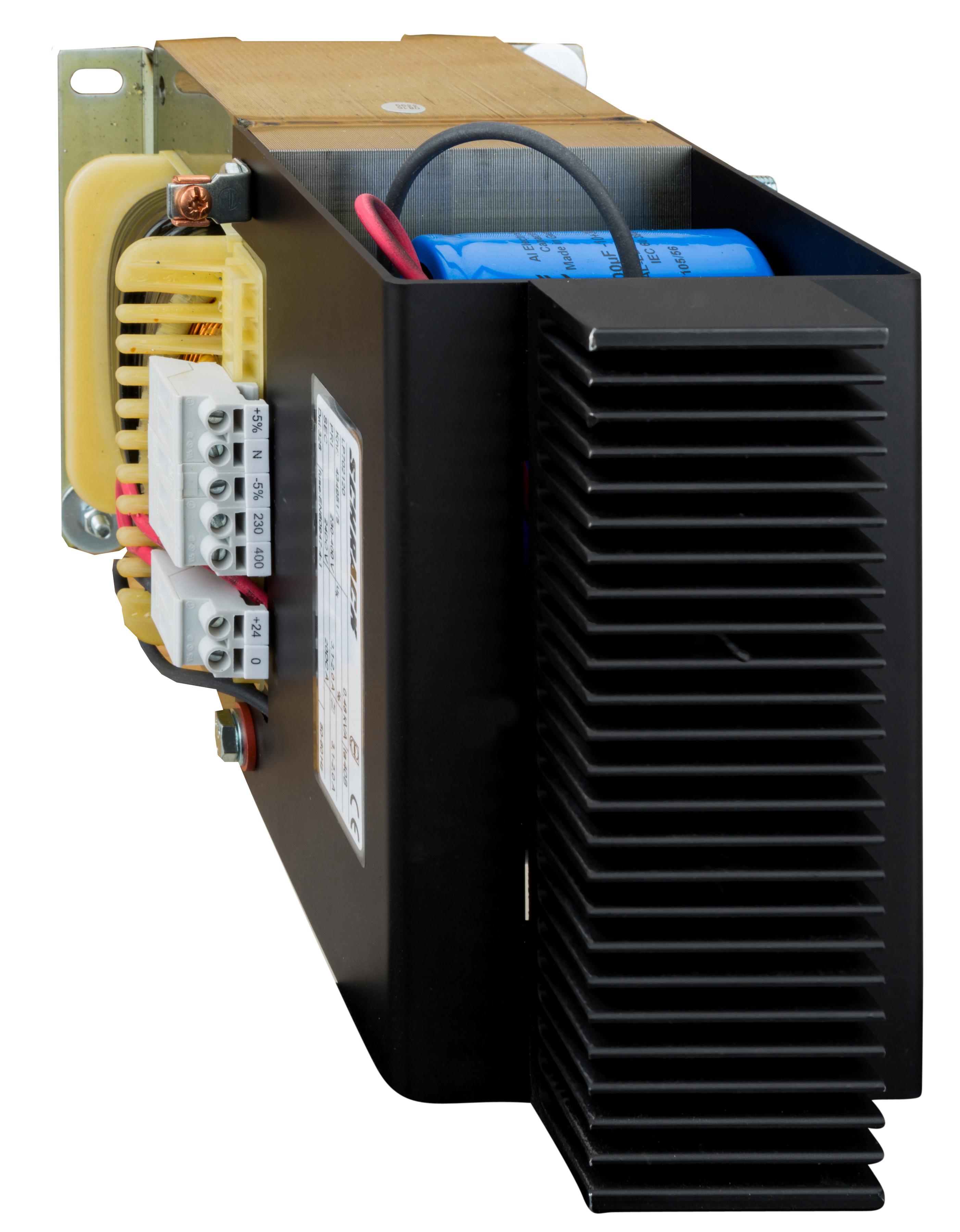 1 Stk Einpoliges Netzgerät, ungeregelt, 230-400/24VDC, 20A LP702120T-