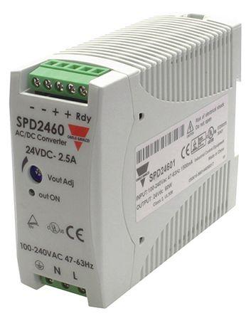 1 Stk Schaltnetzteil 24VDC 2,5A 60W LP749060--