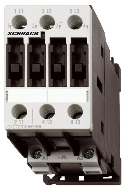1 Stk Leistungsschütz, 4kW, 9A AC3, 24VAC, 0 LSD00930--
