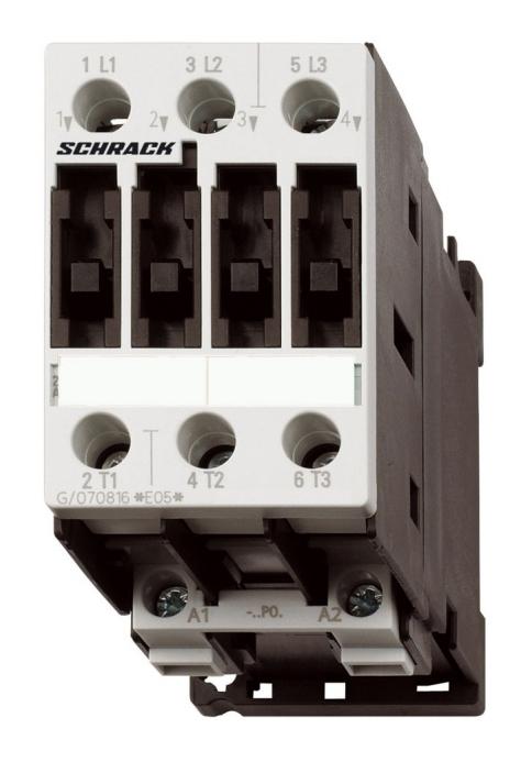 1 Stk Leistungsschütz, 5,5kW, 12A AC3, 24VAC, 0 LSD01230--