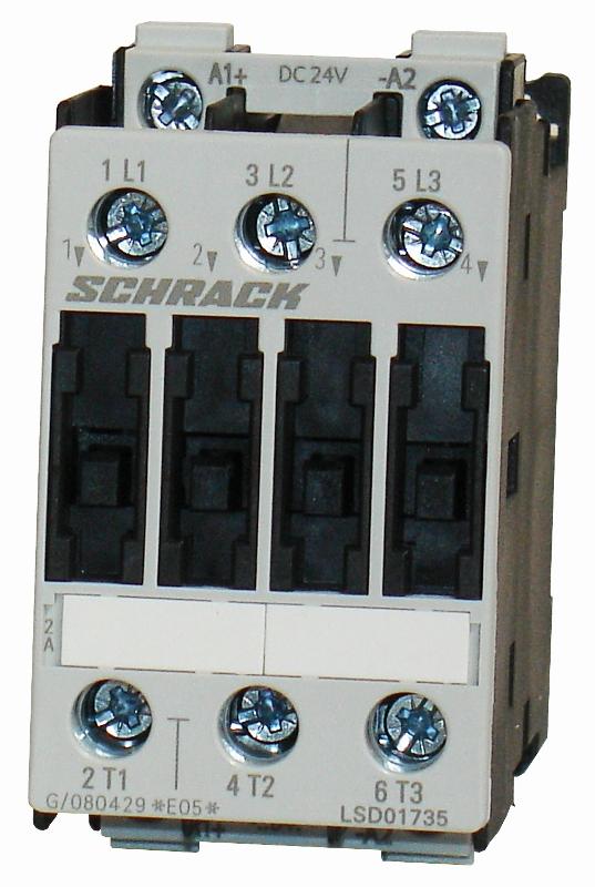 1 Stk Leistungsschütz, 7,5kW, 17A AC3, 24VDC, 0 LSD01735--
