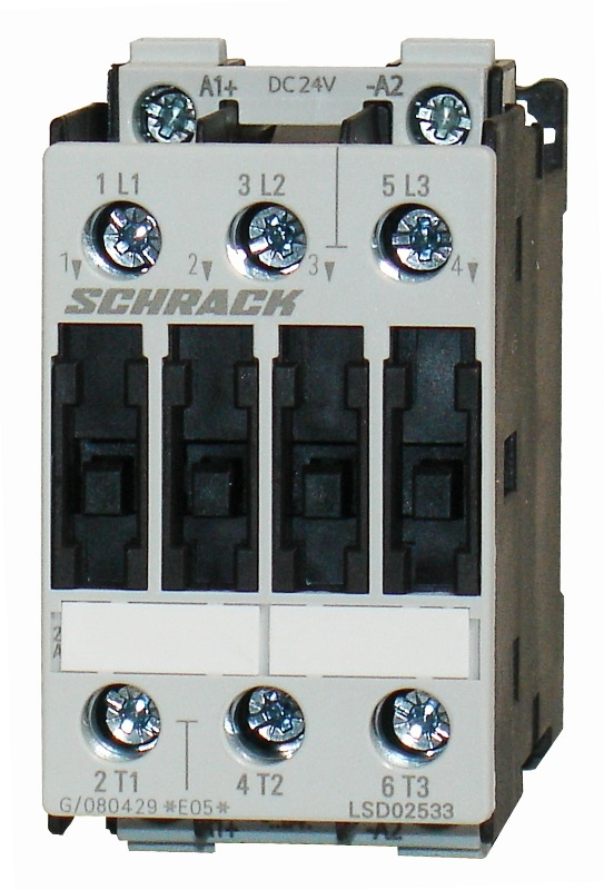 1 Stk Leistungsschütz, 11kW, 25A AC3, 230VAC, 0 LSD02533--