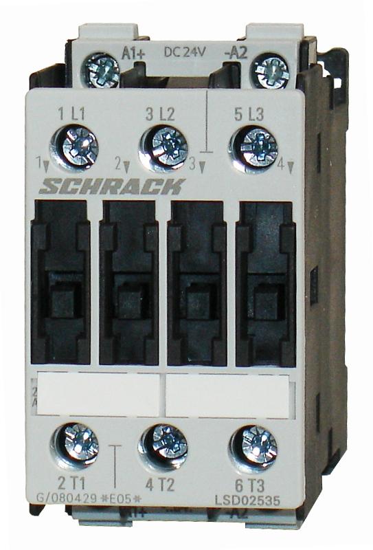 1 Stk Leistungsschütz, 15kW, 32A AC3, 110VAC, 2 LSD23232--