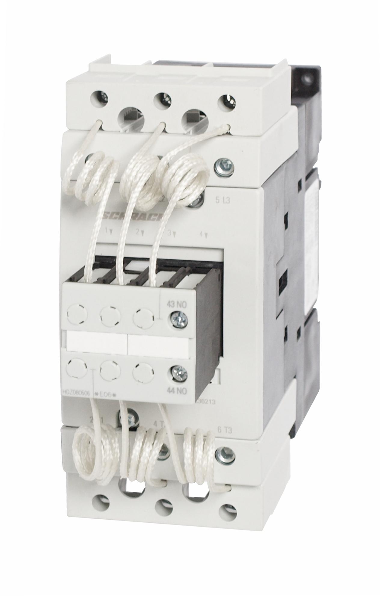 1 Stk Kondensatorschütz, AC6 50kVAr/400V, 230VAC, 1S, 3 LSK36213--