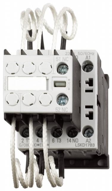 1 Stk Kondensatorschütz, AC6 12,5kVAr/400V, 230VAC, 1S+1Ö, 00 LSKD17B3--