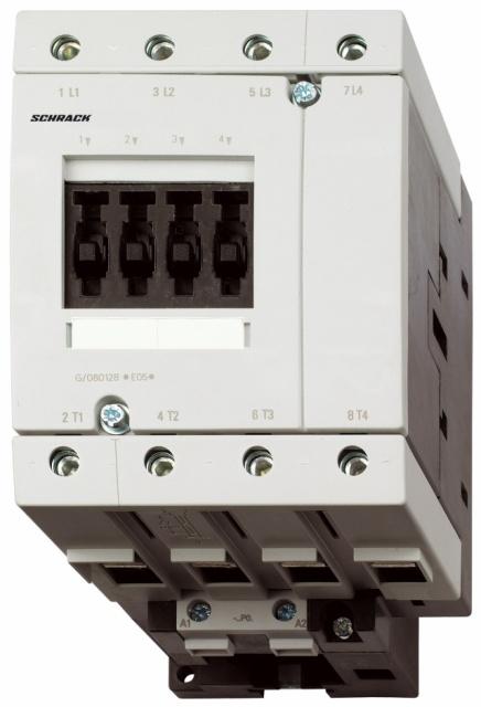 1 Stk Leistungsschütz, AC1 60A/690V, 24VDC, 2 LSR26045--
