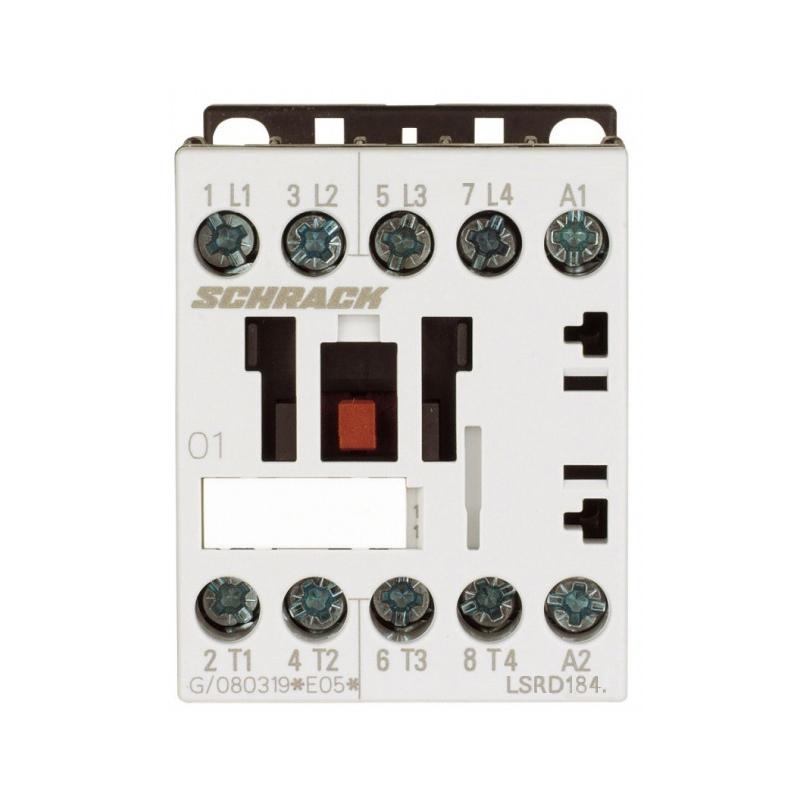 1 Stk Leistungsschütz, AC1 18A/690V, 230VAC, 00 LSRD1843--
