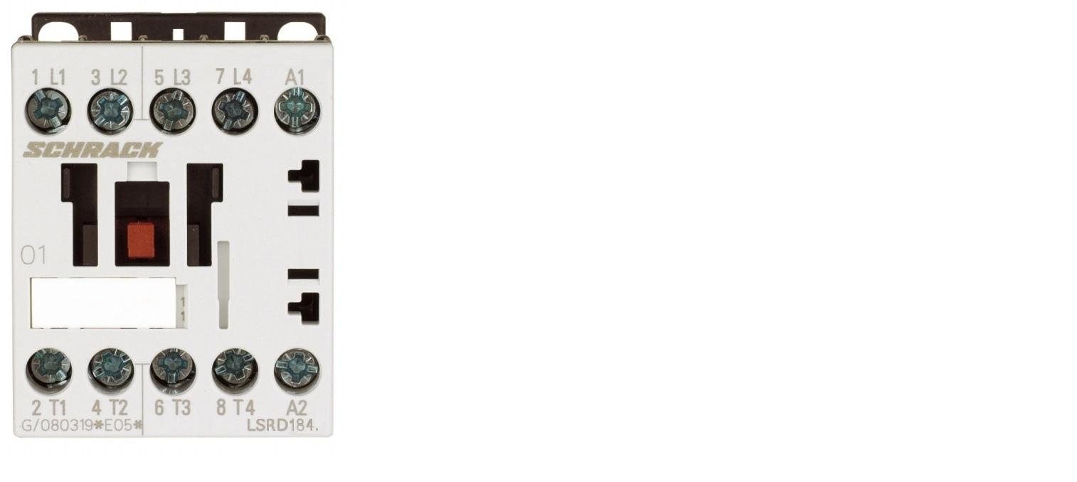 1 Stk Leistungsschütz, AC1 18A/690V, 24VDC, 00 LSRD1845--