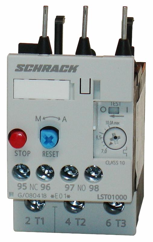 1 Stk Thermisches Überlastrelais 7,00 -10,00A, 0 LST01000--