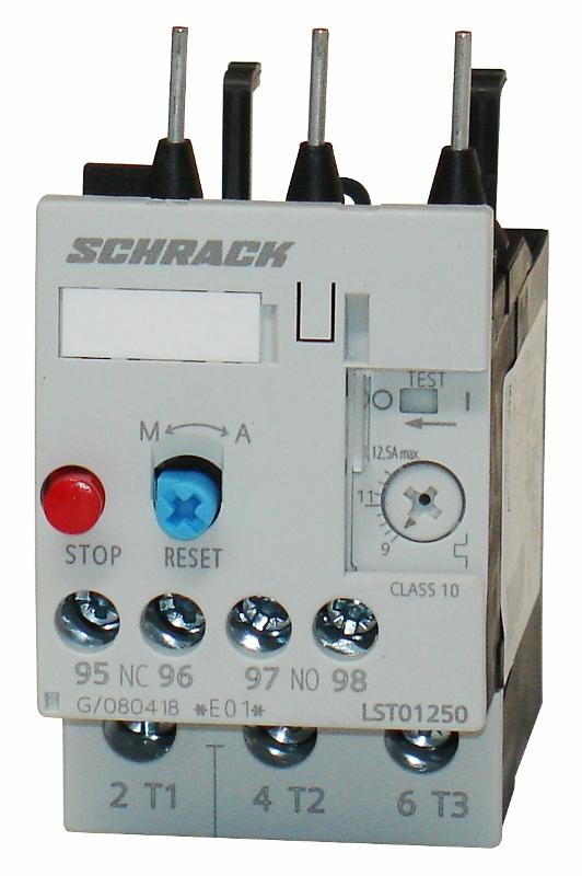 1 Stk Thermisches Überlastrelais 9,00 -12,50A, 0 LST01250--