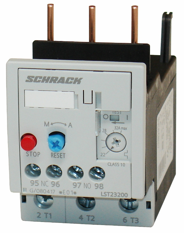 1 Stk Thermisches Überlastrelais 40,00-50,00A, 2 LST25000--