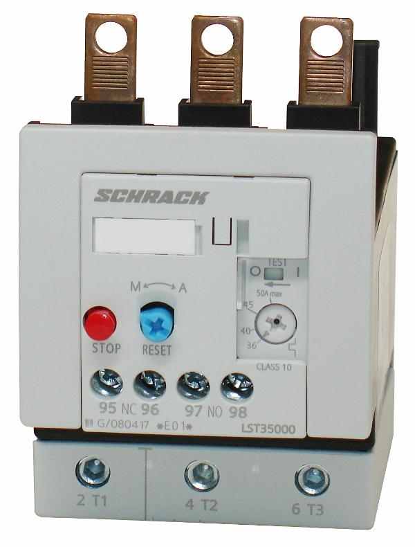 1 Stk Thermisches Überlastrelais 36,00-50,00A, 3 LST35000--