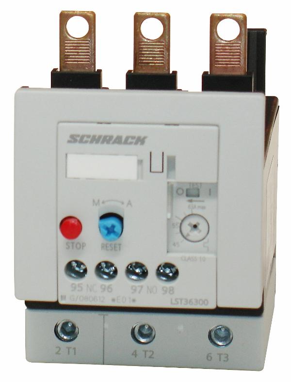 1 Stk Thermisches Überlastrelais 45,00-63,00A, 3 LST36300--